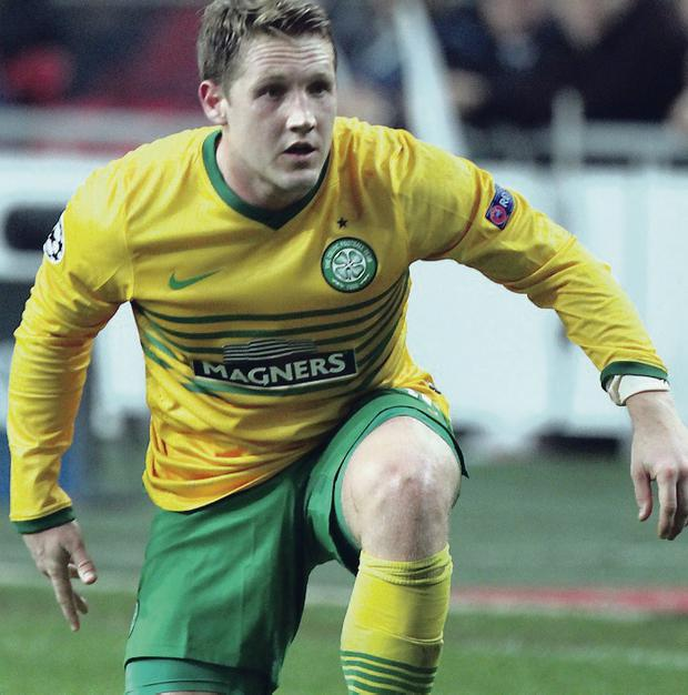 Constant threat: Kris Commons hit the bar in the first half