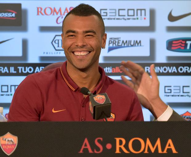 New chapter: Ashley Cole wants to win trophies with Roma
