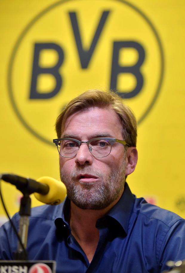 Jurgen Klopp may be heading for England