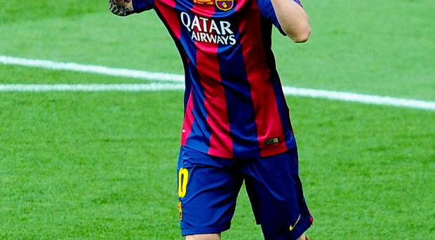 Different class: Barcelona magician Lionel Messi is the best player I have shared a pitch with