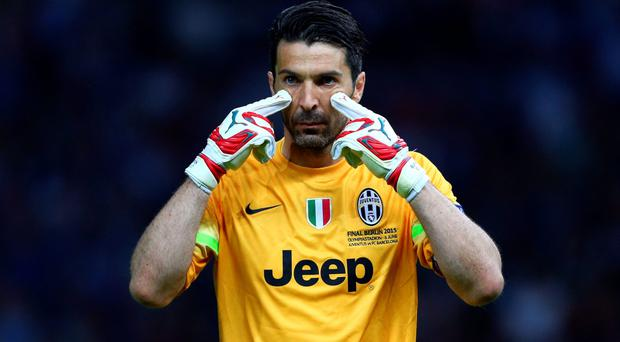 Juventus captain Gianluigi Buffon