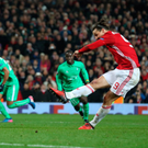 Treble yell: Zlatan Ibrahimovic clinches his hat-trick