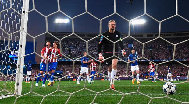 Atletico Madrid 2-1 Leicester City