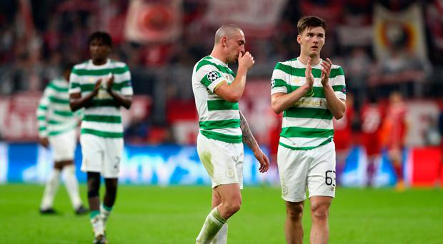 Class apart: Scott Brown and Kieran Tierney