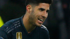 Late show: Marco Asensio after hitting Real's winner