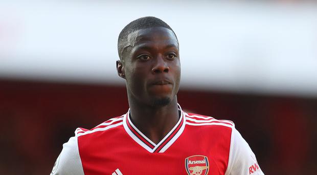 Slow start: Nicolas Pepe has flattered to deceive so far