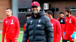 Going again: Jurgen Klopp is eager to improve away results