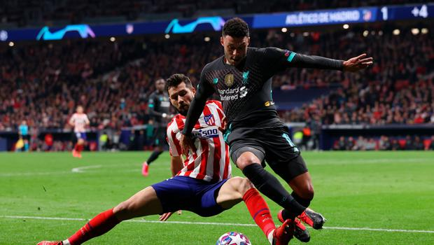UEFA Champions League Highlights: Atletico Madrid VS Liverpool