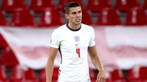 Wolves captain Conor Coady made his England debut on Tuesday night. (Nick Potts/PA)