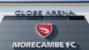 Morecambe's home will not be welcoming supporters for the foreseeable future (Richard Sellers/PA)