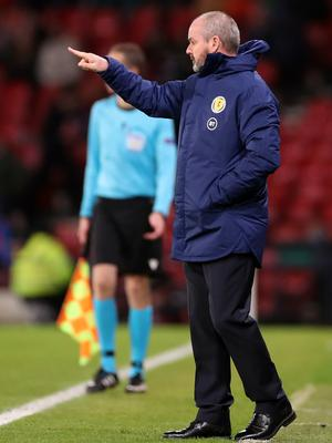 Scotland manager Steve Clarke is hoping his team can get past Israel (Steve Welsh/PA)