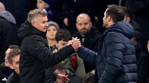 Ole Gunnar Solskjaer disagrees with Frank Lampard (John Walton/PA)
