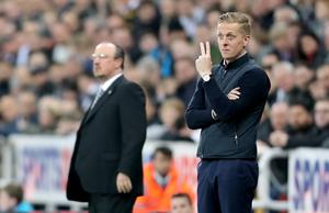 Garry Monk, right, opted not to continue as Leeds manager under owner Andrea Radrizzani (Owen Humphreys/PA)