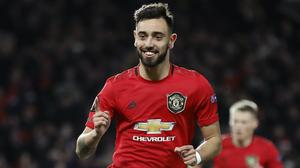Bruno Fernandes is hopeful of a bright future for Manchester United (Martin Rickett/PA)