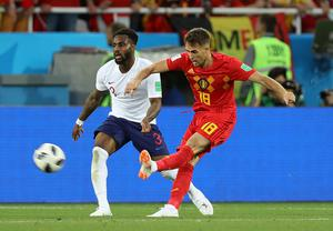 Adnan Januzaj's fine strike settled the World Cup 2018 group-stage clash in favour of Belgium (Aaron Chown/PA)
