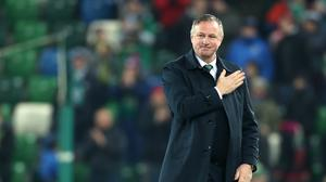Michael O'Neill has issued a heartfelt message to supporters.