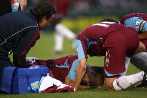 Dyer suffered a double leg fracture early in his West Ham career (Nick Potts/PA)