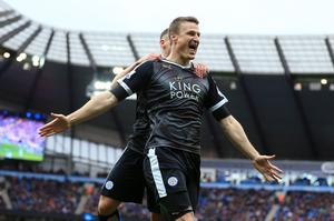 Robert Huth was a constant threat from set-pieces in his career (Nigel French/PA)