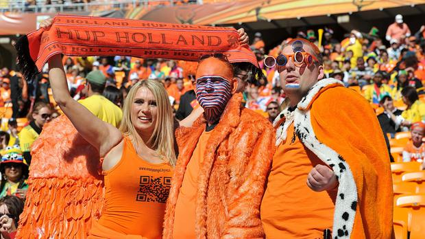 Holland fans have a team to get excited about (PA)