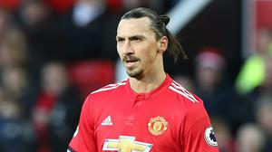 Zlatan Ibrahimovic pictured during his stint at Manchester United (Martin Rickett/PA)