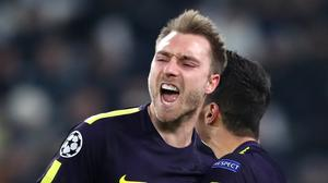 Christian Eriksen was on the scoresheet as Spurs came back to earn a draw at Juventus