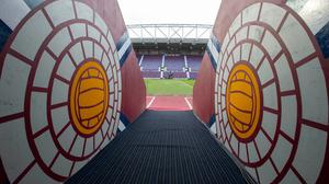 Hearts face relegation should the Scottish Premiership be cancelled (Jeff Holmes/PA)