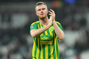 Final farewell: Chris Brunt is leaving West Brom after 13 years
