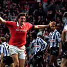 Steve Bruce during his playing days at Manchester United (John Giles/PA)