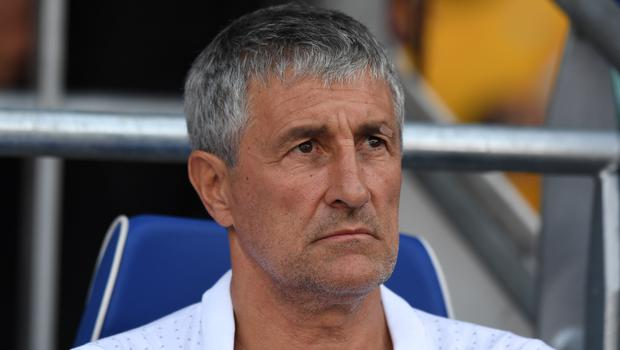 Barcelona coach Quique Setien is worried about his side's away form (Simon Galloway/PA)