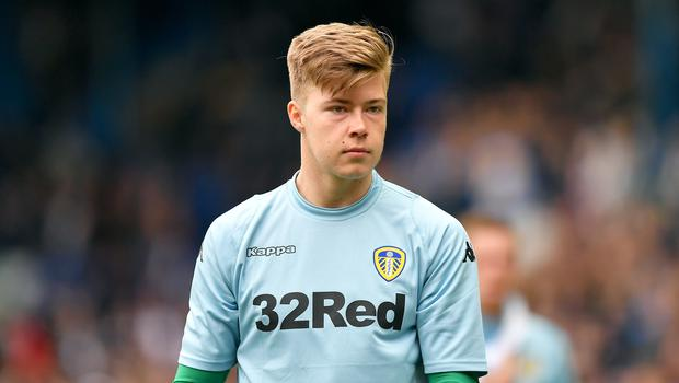 Bailey Peacock–Farrell ended the season as Leeds' number one (Dave Howarth/EMPICS)