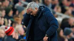 Bad news: Jose Mourinho