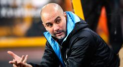 Sorted out: Pep Guardiola knows what to expect from United