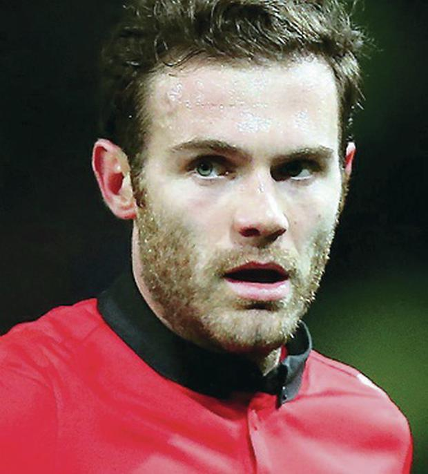 Give him time: Juan Mata is tipped to be a success at United