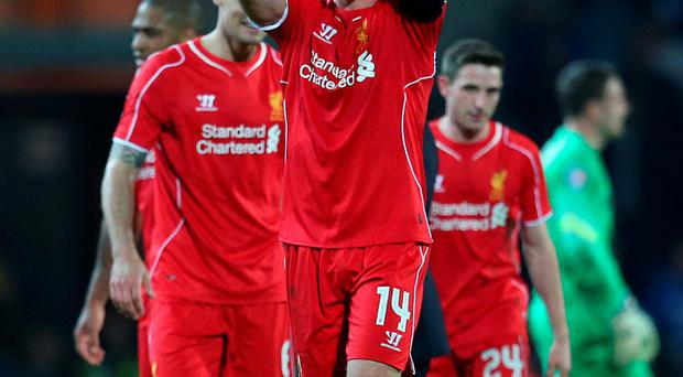 Relieved: Jordan Henderson hailed a big win at Blackburn