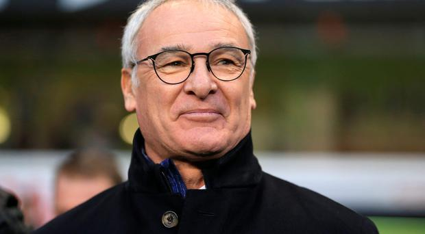 Having a ball: Claudio Ranieri is revelling in Leicester's form