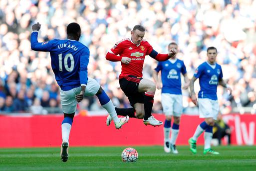 Pulling the strings: Wayne Rooney impressed while playing in a deeper position in Manchester United's FA Cup semi-final win over Everton at Wembley
