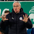 Happy man: Leicester City manager Claudio Ranieri