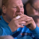Expensive pie: Wayne Shaw lost his job after this feed