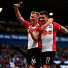 Safely through: Southampton will face Man City or Wigan