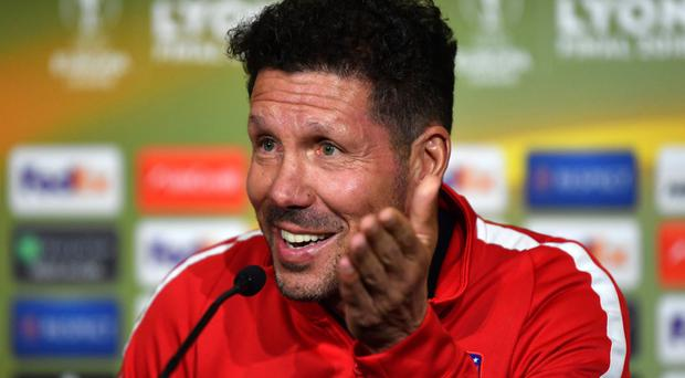 Atletico Madrid manager Diego Simeone