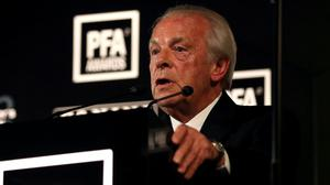 Gordon Taylor is to step down from his PFA role at the end of the season (Steven Paston/PA)