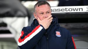 Stoke manager Michael O'Neill has plenty to think about regarding his team selection at Wigan (Nick Potts/PA)