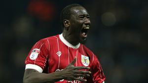 Bristol City's Famara Diedhiou has been subjected to racist abuse online (Nigel French/PA)