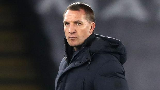 Brendan Rodgers saw his Leicester team knocked out of the Europa League (Nick Potts/PA)