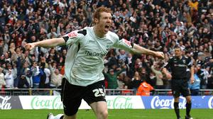 Stephen Pearson scored the only goal in the 2007 Championship play-off final (John Stillwell/PA)