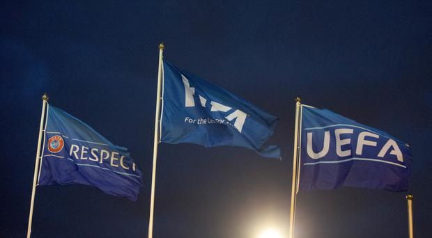 UEFA has handed out punishments (Jeff Holmes/PA)