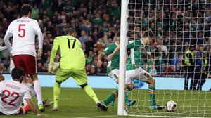Seamus Coleman popped up at just the right time to score the winner