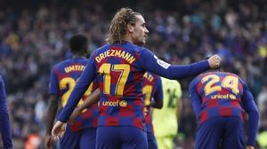 Barcelona edged past Getafe to seal all three points (G.Garin/AP)