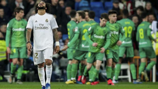 LaLiga leaders Real Madrid suffered a shock home defeat in the Copa del Rey (AP Photo/Manu Fernandez)