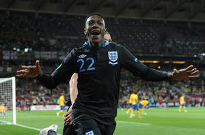 Danny Welbeck netted England's winner against Sweden at Euro 2012 (Anthony Devlin/PA)